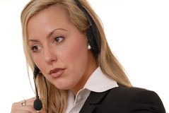 Lovely Business Lady 127 Stock Image