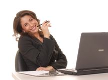 Lovely Business Lady 2 Royalty Free Stock Images