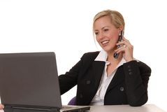 Lovely Business Lady 9 Stock Image