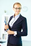 Lovely business lady Stock Photo