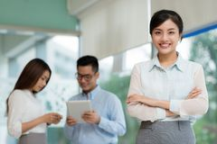 Lovely business lady Stock Photos