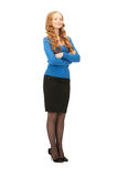 Lovely business woman Royalty Free Stock Images