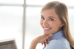 Lovely businesswoman Stock Photos