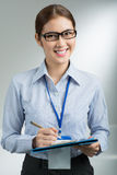 Lovely businesswoman Stock Image