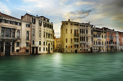 Lovely canals in Venice. Italy Royalty Free Stock Images
