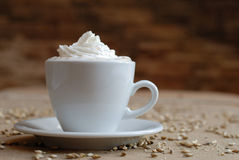 Lovely cappuchino Stock Photography