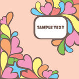 Lovely  card Stock Images