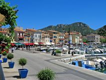 Lovely Cassis, France royalty free stock images