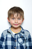 Child making faces Royalty Free Stock Photography