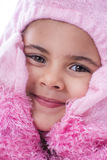 Lovely Child Wearing Fancy Dress Costume Royalty Free Stock Images