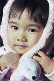 A lovely chinese baby. With beautiful eyes Stock Photography