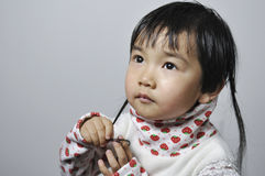 A lovely chinese baby Royalty Free Stock Images
