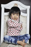 A lovely chinese baby Stock Photo