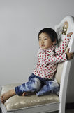 A lovely chinese baby Stock Image