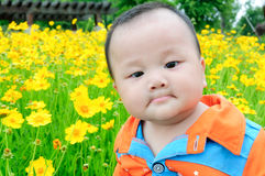 Lovely Chinese baby Stock Photo