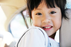 A Lovely Chinese girl Royalty Free Stock Photos