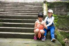 Lovely chinese girls Stock Photo