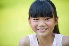 Lovely Chinese little girl Stock Photography