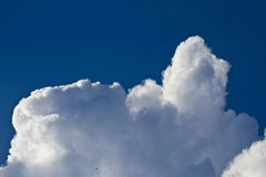 Lovely clouds. In the sky Royalty Free Stock Photo