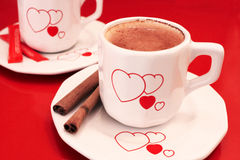 Lovely Coffee. Lovely cups of hot expresso coffee Royalty Free Stock Photos