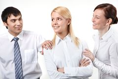Lovely colleague Royalty Free Stock Images