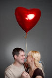 Lovely couple Stock Photos