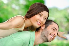 Lovely couple Stock Photography
