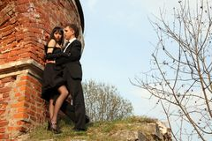 lovely couple Stock Images