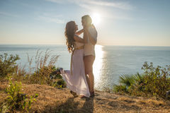 Lovely couple Royalty Free Stock Photos