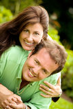 Lovely couple portrait Royalty Free Stock Photos