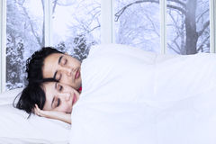 Indian couple bedroom stock photos images pictures for Sleeping with window open in winter