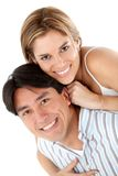 Lovely couple smiling Royalty Free Stock Images
