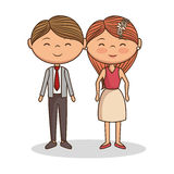 lovely couple valentines day Royalty Free Stock Photo