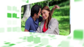 Lovely couples spending time together Royalty Free Stock Image