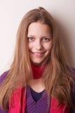 Lovely cute teen girl. Portrait of a lovely cute teen girl Stock Photos