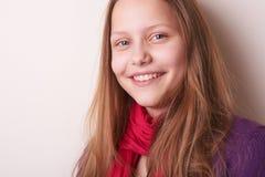 Lovely cute teen girl Stock Images