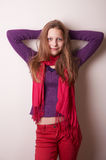Lovely cute teen girl Royalty Free Stock Images