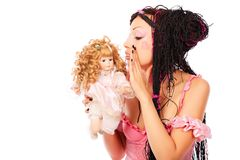 Lovely doll Stock Photos