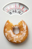 A lovely donut Stock Images