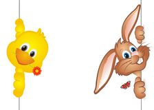 Lovely easter background Stock Images