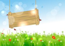 Lovely easter background Royalty Free Stock Image