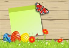 Lovely easter background Royalty Free Stock Photography