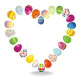 Lovely easter background  Stock Photography