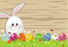 Lovely easter background Royalty Free Stock Images