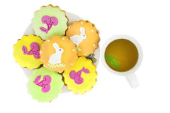 Lovely easter cookie Royalty Free Stock Photography