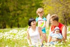 Lovely family Stock Image