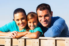 Lovely family closeup Royalty Free Stock Photo