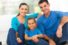 Lovely family home Royalty Free Stock Photo