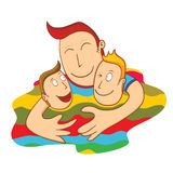 Lovely father Royalty Free Stock Photo