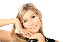 Lovely female face Royalty Free Stock Photos